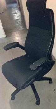 Bürostuhl schwarz verstellbar fast neu