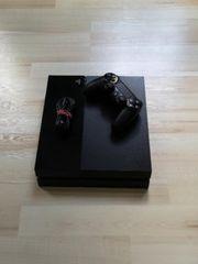 Playstation 4 mit einem Controller