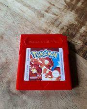 Pokemon rote edition gameboy