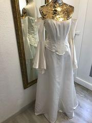 Brautkleid Hochzeit Ivory 2 Tlg