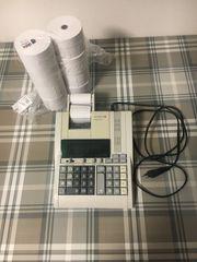 Tischrechner Olympia CPD3212S und 8