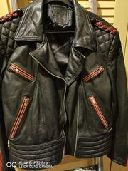 Schöne Vintage Motorradjacke Größe 42