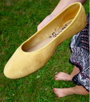 Damenschuhe Ballerinas getragen