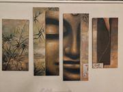 4-teiliges Bild Triptychon