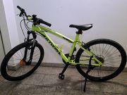 Mountainbike 24 Zoll Rockrider Neongelb