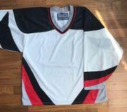 Eishockey Jersey neutral weiß
