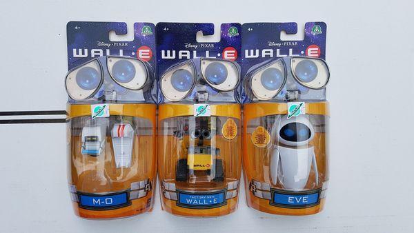 Disney Pixar Actionfiguren WALL-E EVE