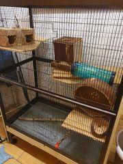 Käfig für Degus Ratten Vögel