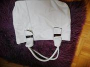 Tasche Handtasche neu weiss