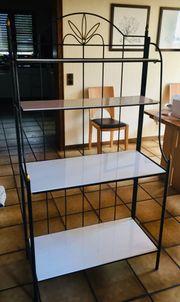 Regal Stufenregal Stahlrohr zusammenklappbar Art-Deko