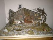Krippe für Weihnachten alpenländische Krippe