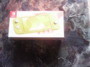 Nintendo Switch Lite gelb Neuwertiger
