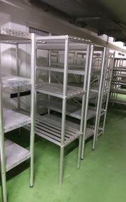 Alu kühlhaus Regal Regale für