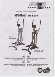 Crosstrainer Walker de luxe
