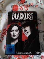DVD The Blacklist 5 Staffel