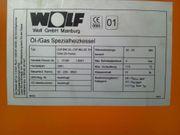 Wolf Ölbrenner für Kessel C