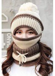 mütze Schal Maske