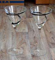 2 Glaskelche