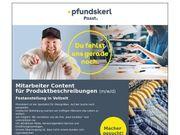 Mitarbeiter Content für Produktbeschreibungen m