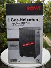 ROWI Gas-Heizofen neu