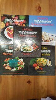 Tupperware Bücher - 5 Stück