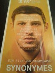 Flyer Berlinale 2019 Goldener Bär