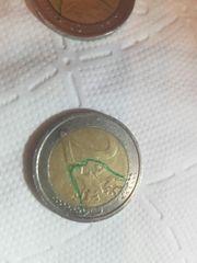 2 euro münze fehlprägung Rarität