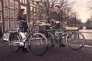 Fahrradkorb klappbar Adapter-Basisstation im Set