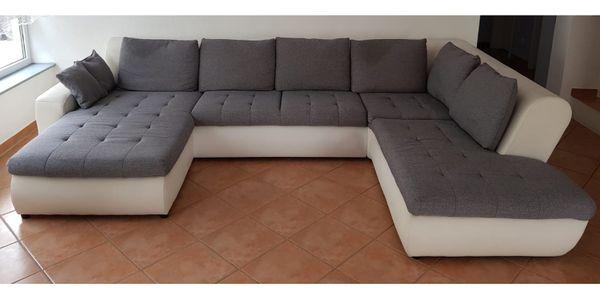 Couch mit Schlaffunktion und Bettkasten