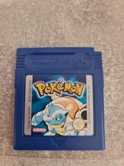 Gameboy Pokemon Blau Deutsch