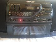 Sharp Radio Recorder 5fach CD