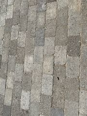 Pflastersteine ohne Steg seitlich