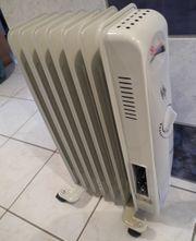 Radiator Ölradiator Heizung Elektroheizung 1500