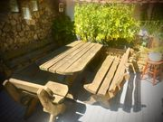 rustikale Gartenmöbel Lärche