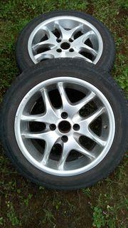 Aluräder mit Reifen 185 55R15