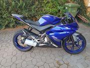 Verkaufe Yamaha YZF R 125