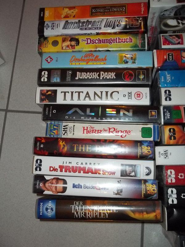 Verkaufe 25 VHS