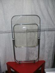 Desinger Stühle Vercromt mit Plexglas