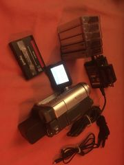 Sony DCR-TRV255E mit viel Zubehör