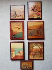 Bilder Kunsthandwerk - Holzintarsien