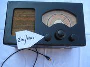 Röhrenradio Vorkriegsradio mit neuer Technik