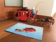 Playmobil 7428 Westernkutsche Postkutsche Western