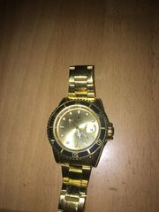 Rolex submariner Gold schwarz