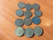 Biete 1 und 5 Reichspfennig