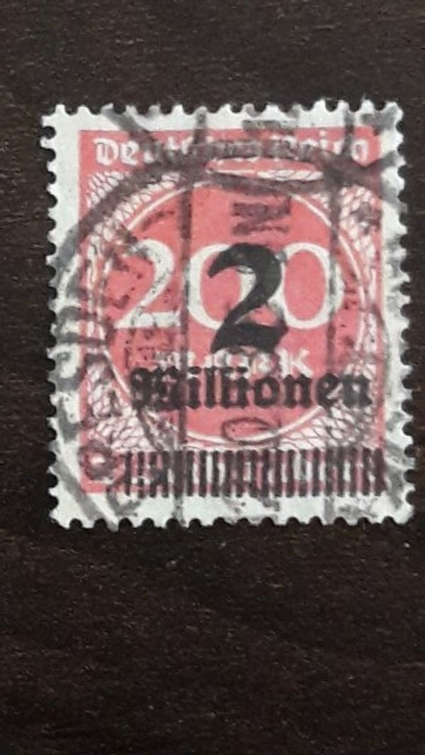 Briefmarke Deutsches Reich Mi 309