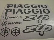 Piaggio ZIP Aufkleber Set verschiedene