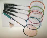 Badminton Set 5 Schläger 1
