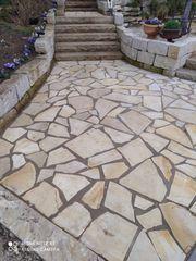 Naturstein polygonal Platte