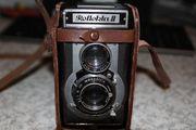 Reflekta analoge Rollfilmkamera mit Tasche