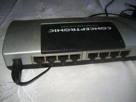 Conceptronic C100S8 Switch Fast 8xRJ45: Kleinanzeigen aus Birkenheide Feuerberg - Rubrik Netzwerkkarten, Hubs, Switches
